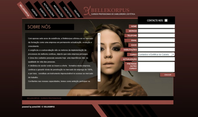 Website Bellekorpus