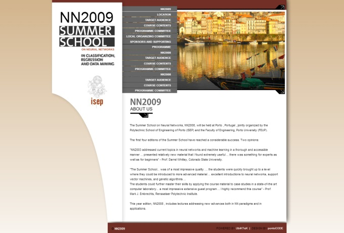 Website NN2009