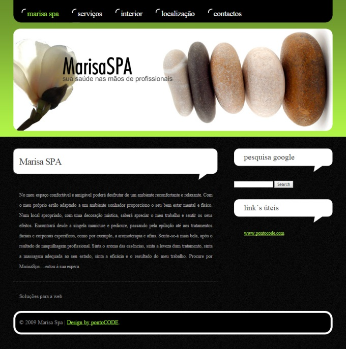 Website Marisa Spa