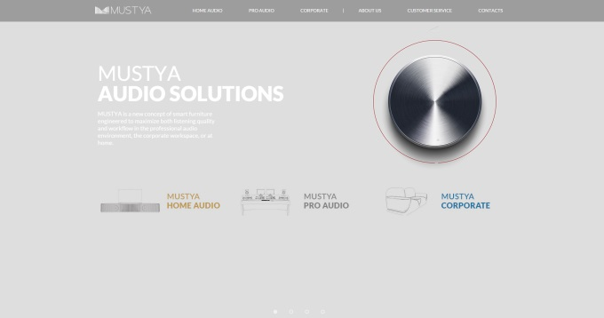 Website da Mustya